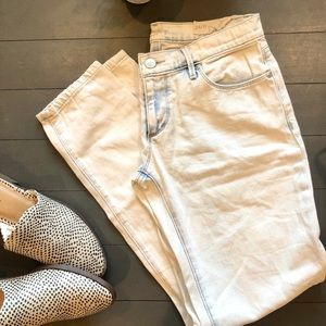 Relaxed Skinny LOFT jeans Acid Wash
